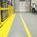 5S- painted floor